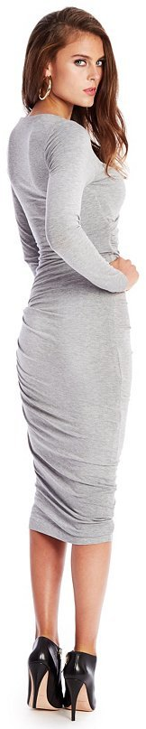GUESS by Marciano Deanna Faux-Leather Detail Dress