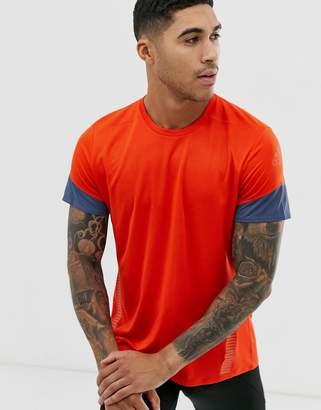 adidas 25/7 t-shirt in orange