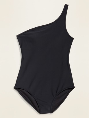 Old Navy One-Shoulder One-Piece Swimsuit for Women