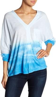 Couture Go Drop Shoulder Cloud Print Blouse