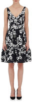Erdem Women's Jacquard Gaby Fit & Flare Dress-BLACK