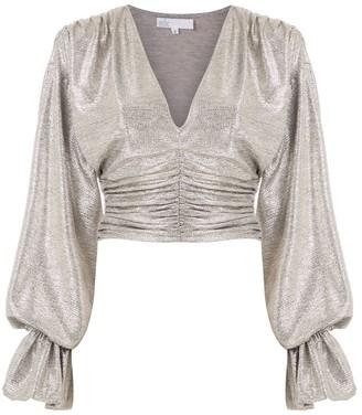 Nk Lunar Zoe metallic blouse