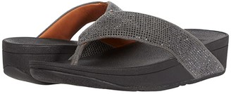 FitFlop Ritzy Toe Thong Sandals (Pewter 2) Women's Sandals