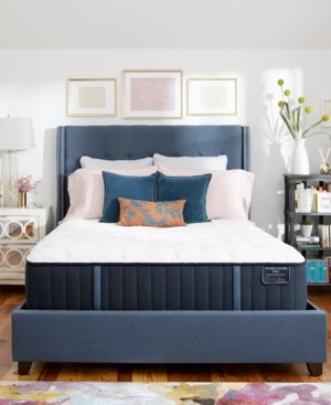 "Stearns & Foster Estate Hurston 14"" Luxury Cushion Firm Mattress Set - King"