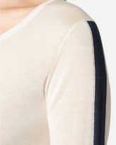 N.Peal Base Layer Superfine Round Neck Cashmere Top