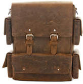 Colsenkeane Leather No. 1116 Crazy Horse Leather Backpack