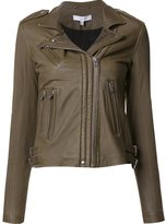 IRO biker leather jacket - women - Leather - 36