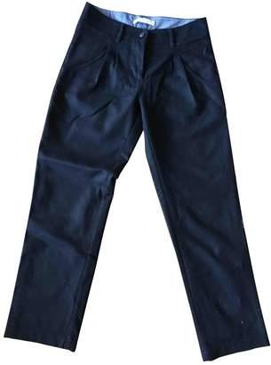 Sessun Black Wool Trousers for Women