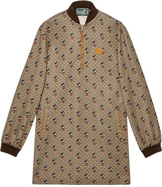 Gucci x Disney GG Supreme sweater dress