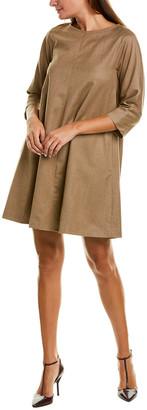 Max Mara Tonico Wool-Blend Shift Dress