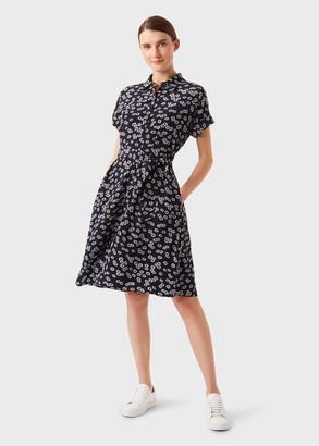 Hobbs Aurelia Floral Fit And Flare Dress