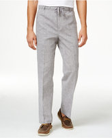 Mens Grey Linen Pants - ShopStyle