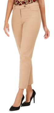 Anne Klein Bowie Extended-Tab Dress Pants