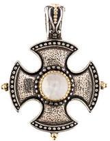 Konstantino Erato Labradorite Shield Pendant
