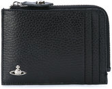 Vivienne Westwood zip top cardholder - men - Leather - One Size