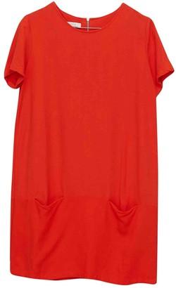Sessun Orange Linen Dress for Women