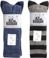 Kodiak Men's 4 Pairs of Soft All Season Crew Socks, US Shoe Size 7-12