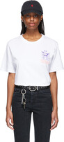 Thumbnail for your product : SSENSE WORKS SSENSE Exclusive Dev Hynes White Talking Chords T-Shirt