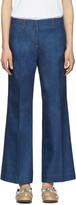 Emilio Pucci Blue Wide-leg Jeans