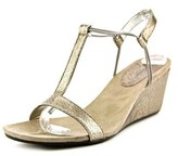 Style&Co. Style & Co Mulan Women Open Toe Synthetic Bronze Wedge Sandal.