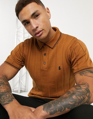 Lockstock jorge polo in textured mustard