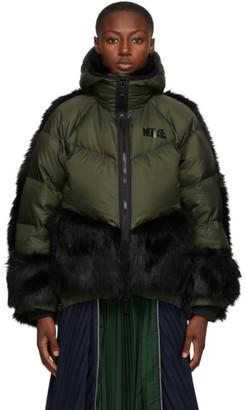 Nike Green Sacai Edition Down NGR Parka