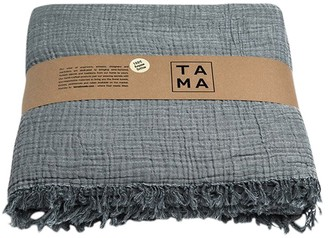 Tama Towels Coco Dark Gray Bed Cover