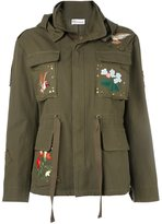 RED Valentino embroidered military jacket