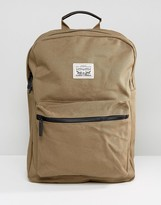 Levis Levi's Canvas Backpack In Khaki