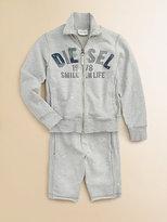 Diesel Boy's Logo Sweat Shorts