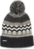 Nine West Fairisle Hat With Lurex