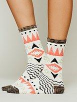 Free People Triangle Crew Sock