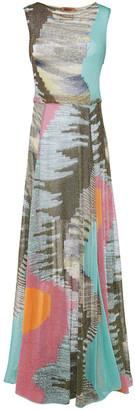 Missoni Sequin-embellished Metallic Crochet-knit Maxi Dress