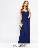 TFNC Wedding Bandeau Chiffon Maxi Dress