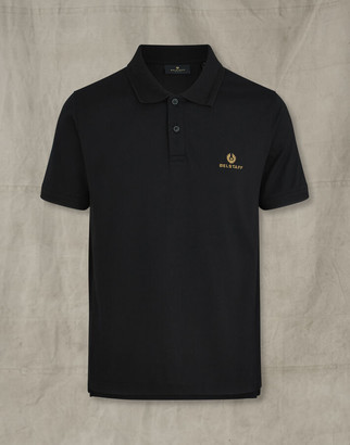 Belstaff SHORT SLEEVED POLO Black