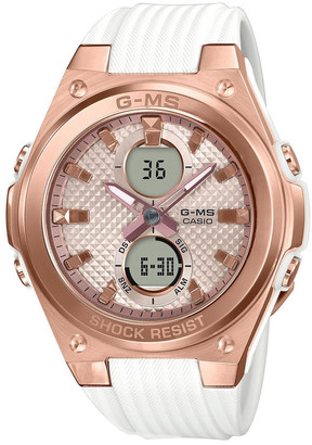 Baby-G MSGC100G-7A Stainless Steel with Resin