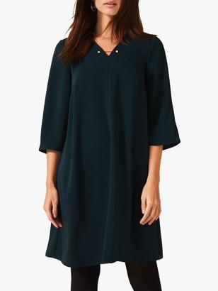 Phase Eight Elmira Dress, Galactic Green