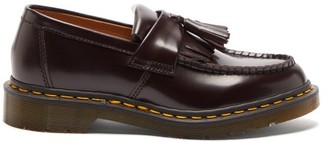 Comme des Garcons X Dr. Martens Adrian Tassel Leather Loafers - Womens - Burgundy