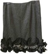 Grazia Maria Severi Grey Skirt for Women