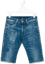 Diesel stretch denim shorts
