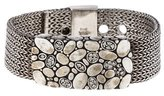 John Hardy Diamond Woven Mesh Bracelet