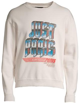 The Kooples Long-Sleeve Graphic Print Sweatshirt