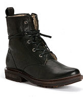 Frye Valerie Lace-Up Italian Leather Shearling Lined Boots