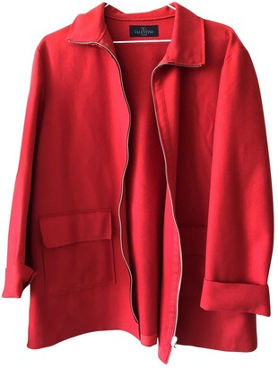 Valentino Red Coat for Women Vintage