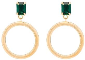 MONDO MONDO Bacall hoop earrings