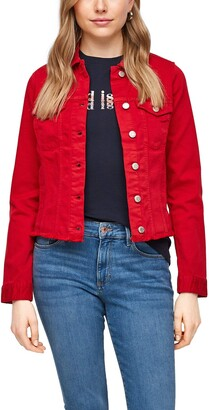 S'Oliver Women's 120.10.103.26.150.2061055 Denim Jacket