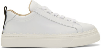 Chloé White Lauren Sneakers