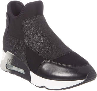 Ash Lazer Leather Sneaker