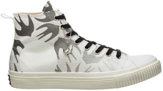 McQ Swallow Print High-Top Sneakers