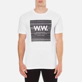 Wood Wood Men's Square TShirt - White